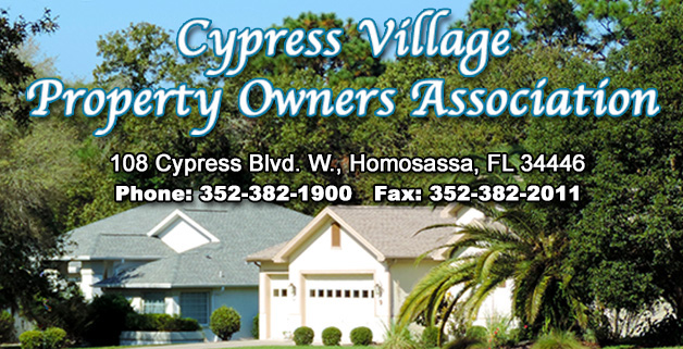 Cypress Village Property Owners Association